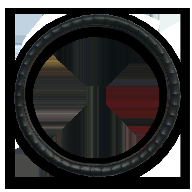 Black Grip Vinyl Steering Wheel