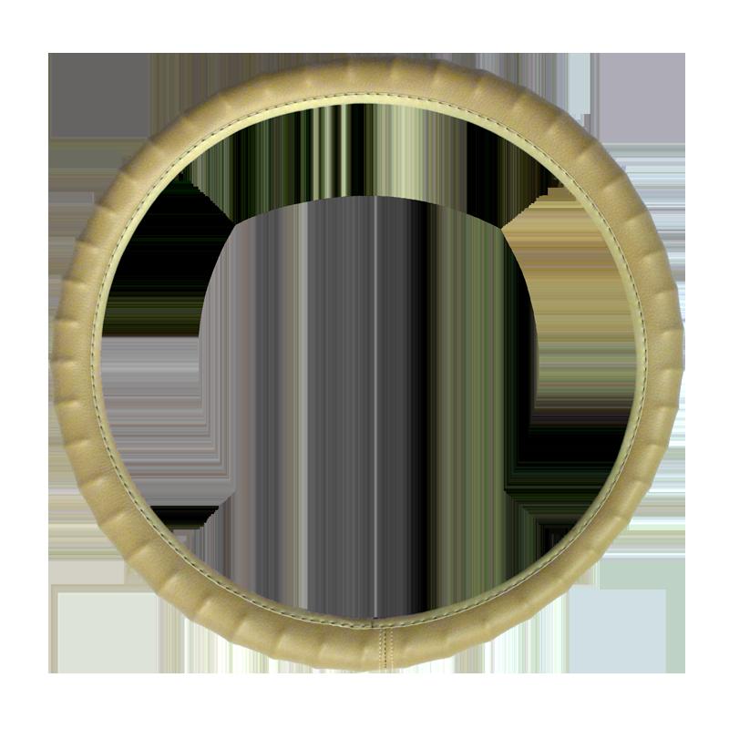 Tan Grip Vinyl Steering Wheel