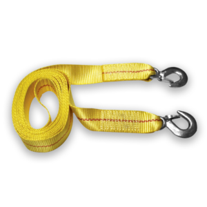 Tow Strap with Safety Hooks