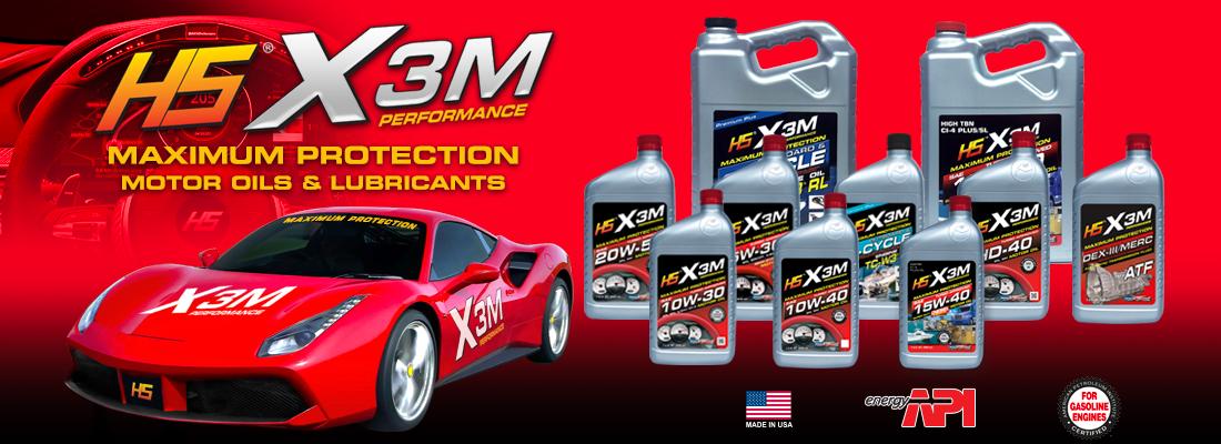 HS X3M Oils