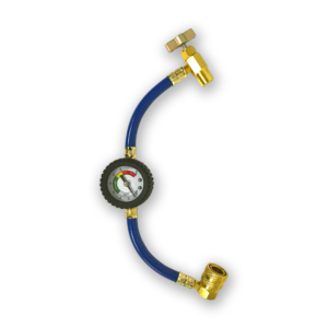 Charging Hose with Gauge