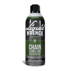 Liquid Wrench, Chain and Lube