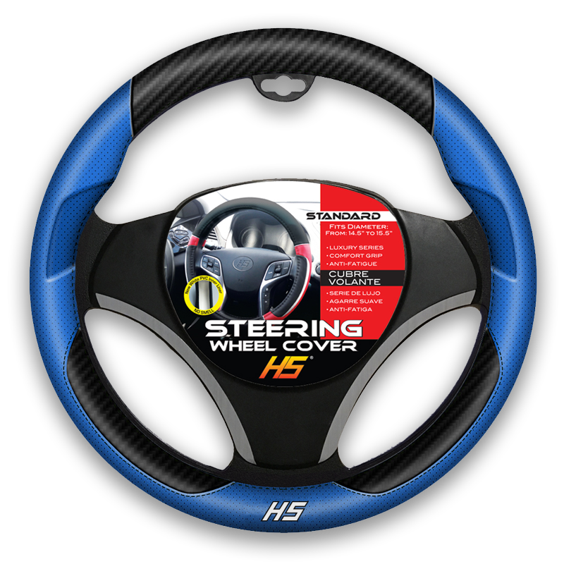 Designer Series, Blue Steering Wheel Cover